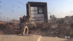 Iraqi HMMWV in eastern Mosul