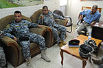Iraqi National Police Officer meeting in Baghdad, Iraq DVIDS164278.jpg