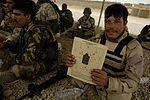 Iraqi soldiers zero and qualify in Mosul DVIDS179411.jpg