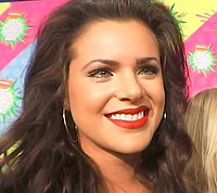 Isabella Castillo at Kids' Choice Awards Mexico 2013 02.jpg
