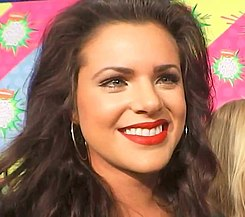Isabella Castillo at Kids' Choice Awards Mexico 2013 02.jpg
