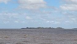 Isla San Gabriel vista desde Colonia.jpg