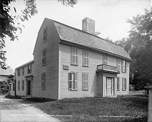 Israel Putnam - Israel Putnam's birthplace, Danvers, Massachusetts, USA.  The house still stands and is owned by the Danvers Historical Society.