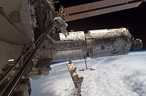 2007 in spaceflight - Image: Iss 016e 012617