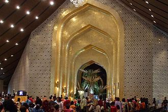 Istana Nurul Iman - The banquet hall, which can seat up to 5,000 people