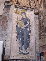 Theotokos mosaic