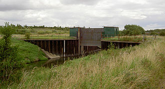 River Dearne - The river regulator at Bolton upon Dearne may be removed as part of a flood risk management strategy.