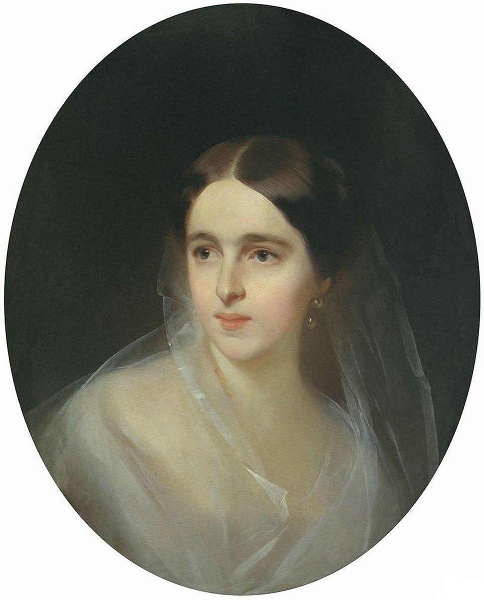 Ivan Makarov - Natalia Nikolaevna Pushkina-Lanskaya 1849