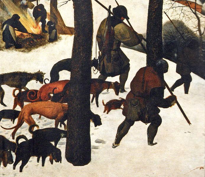 Datei:Jäger im Schnee (Heimkehr).jpg