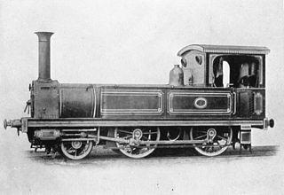 JGR Class 150 Japanese 2-4-0T steam locomotive