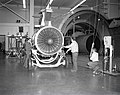 JT-8D REFAN ENGINE BEING REMOVED FROM PROPULSION SYSTEMS LABORATORY PSL TANK 4 - NARA - 17425566.jpg