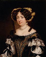 Portrait d'Eleonora Boncompagni Borghese