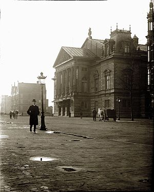 Concertgebouw - Image: Jacob Olie Concertgebouw Amsterdam 10 november 1902