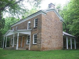 Jacob Rickenbaugh House - Jacob Rickenbaugh House, July 2011