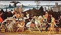 Jacopo del sellaio, tarquinio prisco entra a roma, 1470 ca. 03.jpg