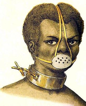 Museu Afro Brasil - Image: Jacques Etienne Arago Castigo de Escravos, 1839