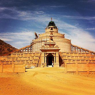 Nakoda - Samosaran temple near Nakoda Parsva Jain temple