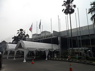 Jakarta Convention Center convention center and sports venue