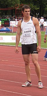 Jake Arnold American decathlete