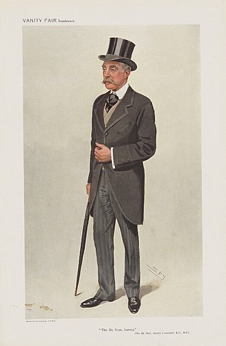 Cathaoirleach - Image: James Campbell, Vanity Fair, 1909 08 25