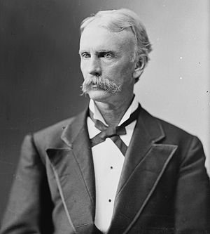 James Noble Tyner - Image: James Noble Tyner, Brady Handy bw photo portrait, ca 1865 1880