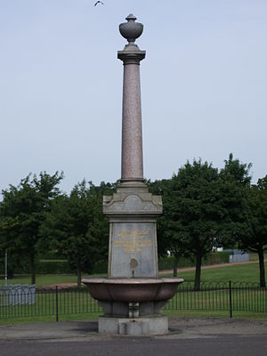 Janet Hamilton - Janet Hamilton Memorial Fountain, West End Park, Coatbridge