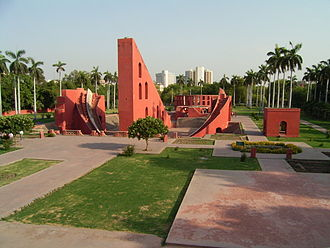 Jantar Mantar - Jantar Mantar in New Delhi, India.
