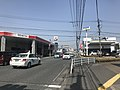 Japan National Route 212 and Motomachi Crossroads.jpg