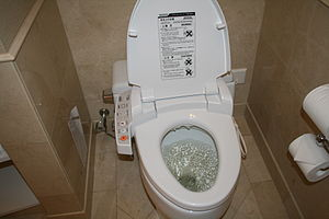 Modern Japanese Toilets.