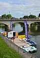 Jarnac 16 La Charente Location canots 2014.jpg