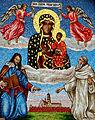 Jasna Gora - Czarna Madonna (mozaika).jpg