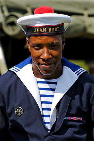 Seaman (rank) - Seaman (matelot) of the French frigate Jean Bart