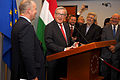 Jean-Claude Juncker with Hungarian MPs - 2015-09-15.JPG