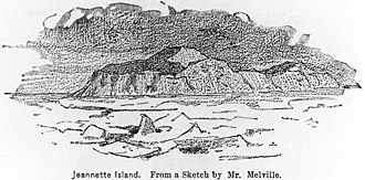 Jeannette Island - Jeannette Island by George Melville, May 1881