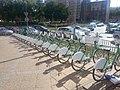 Jedna z wielu stacji systemu Bike S w Szczecinie - Rondo Giedroycia. - panoramio.jpg