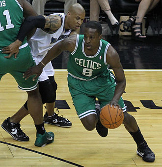 Jeff Green (basketball) - Green with the Celtics in April 2011