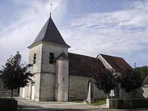 Jessains - Image: Jessains église 2