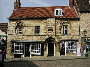 Jew's House - Frontage of the Jew's House, Lincoln