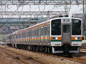 日本国铁211系电力动车组