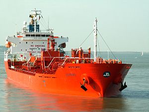 Jo Kiri IMO 9266231 closeup Port of Antwerp, Belgium 12-Oct-2005.jpg