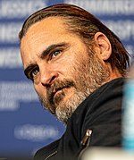 Photo of Joaquin Phoenix at the Berlin International Film Festival in 2018