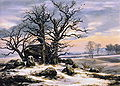 Johan Christian Dahl - Megalith Grave in Winter.JPG