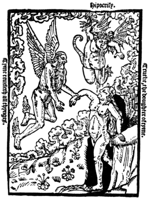 """Engraving by John Byddell of Truth, """"the ..."""