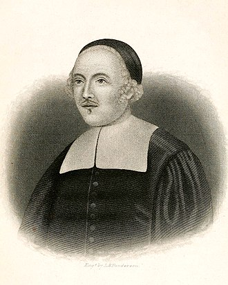 John Davenport (minister) - Image: John Davenport puritan