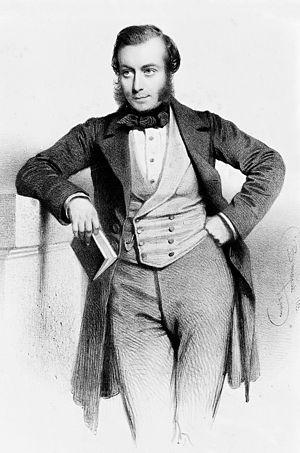 John Eric Erichsen - John Eric Erichsen in 1853