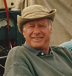 "John Frankenheimer on the set of ""Andersonville"" (cropped).JPG"
