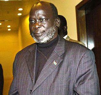 Southern Sudan Autonomous Region (2005–11) - Image: John Garang of Sudan