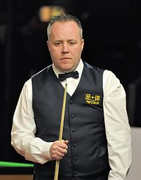 John Higgins at Snooker German Masters (Martin Rulsch) 2014-01-29 11.jpg