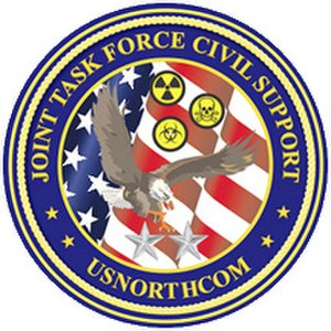 Joint Task Force-Civil Support - Emblem of Joint Task Force Civil Support.
