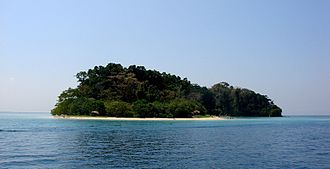 Mahatma Gandhi Marine National Park - Image: Jolly Boys Island 2010